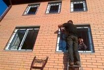 Монтаж решеток в Новоалтайске